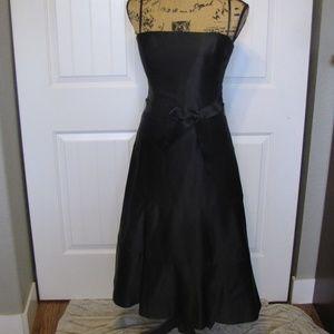 BCBG Women's Little Black Dress Size 6 Strapless